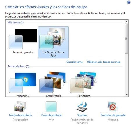 theme-windows-7-los-pitufos