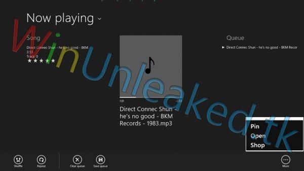 reproductor de musica windows 8