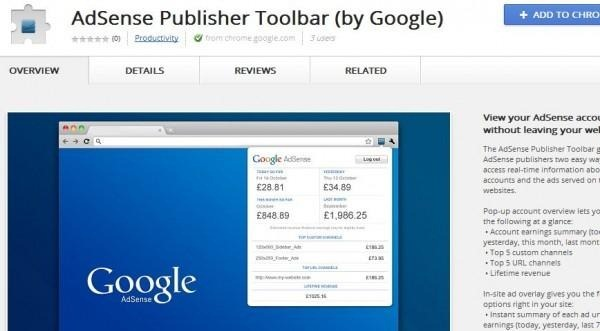 extension google adsense para google chrome
