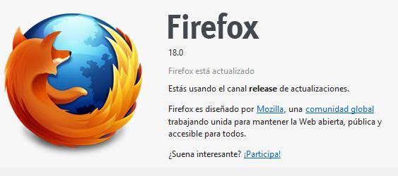 Firefox 18