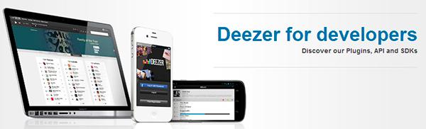 Deezer for developers