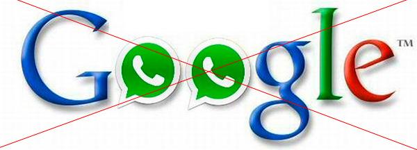 Google Whatsapp No