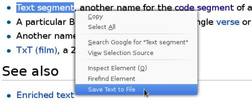 Save Text To File