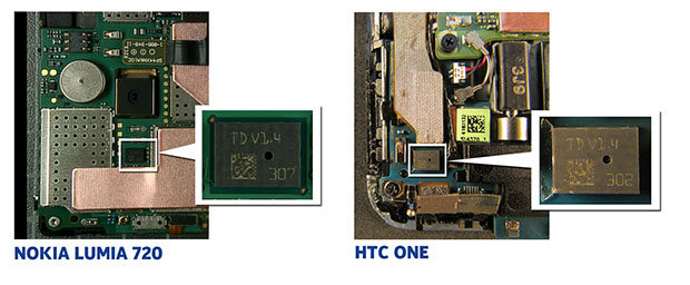 Microfono HTC One