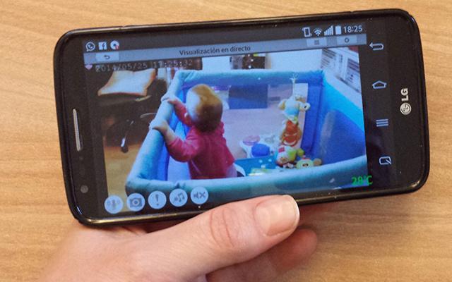camaras de vigilancia para bebes