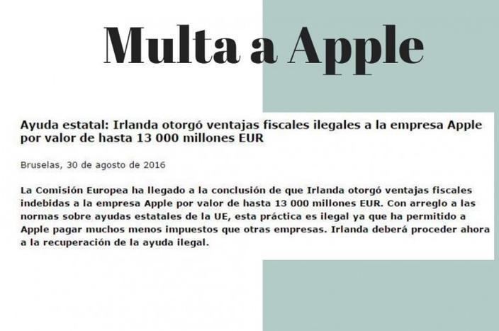 multa Apple